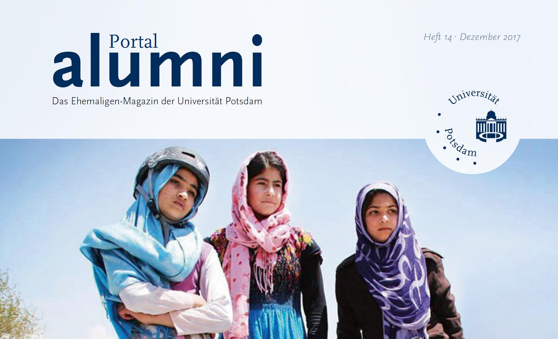 Alumnizeitschrift der Uni Potsdam berichtet über den ASA-FF