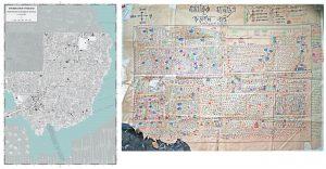Zwei Karten aus This is not an atlas