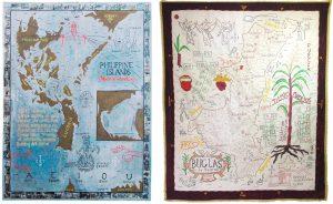 """Zwei Karten aus This is not an atlas, """"Philippine Islands"""" und """"Buglas Is. de Negros"""""""